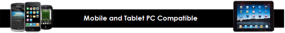 Mobile and Tablet PC Compatible